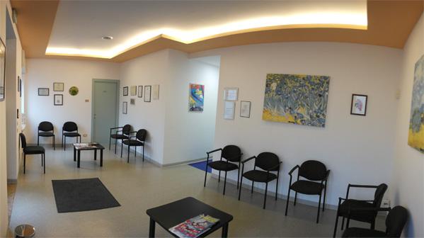 sala di attesa studio dentista dott. Massella Verona